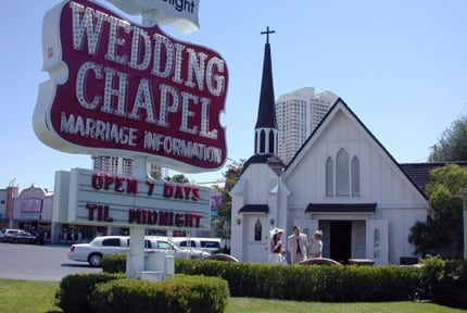 Las Vegas: Wedding Chapel