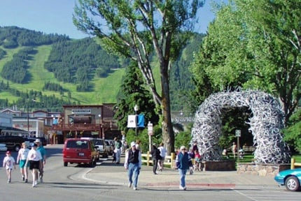 Jackson Hole: Town Square