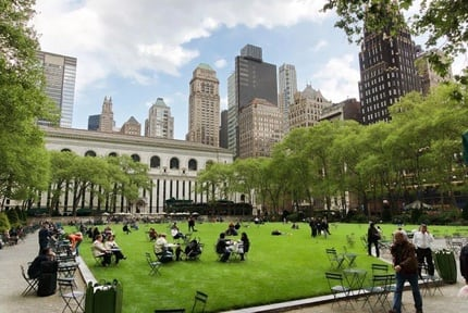 New York: Bryant Park