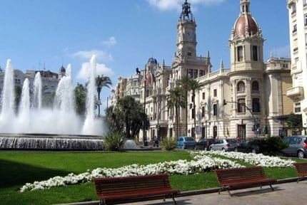 Valencia: Town Hall Square