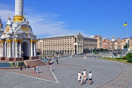 Kiev: Independence Square