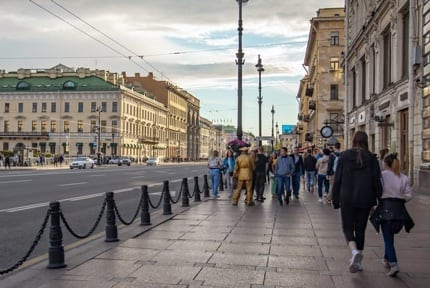 Saint Petersburg: Nevsky Avenue