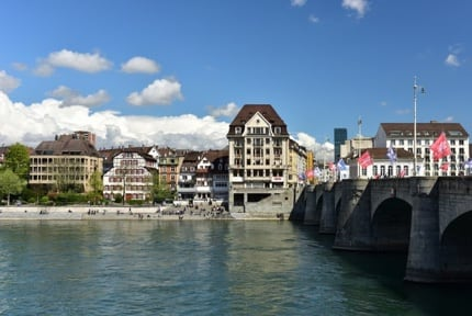 Basel: Middle Bridge