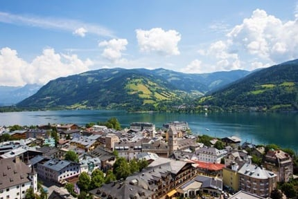 Zell am See, Mountains